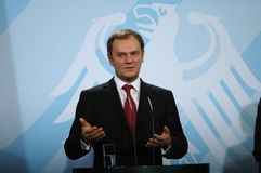 Donald Tusk Royalty Free Stock Photography