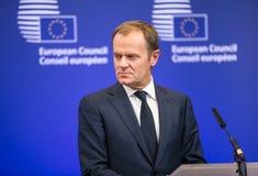 Donald Tusk at the informal EU summit Royalty Free Stock Photography