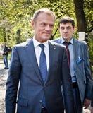 Donald Tusk in Kiev Royalty Free Stock Image