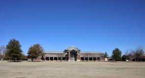 Donald W Reynolds Center Rear på ASU-Mitt--söder arkivbilder