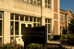 Donald W Reynolds dziennikarstwa instytut Fotografia Royalty Free