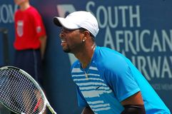 Donald Young, professional tennis player Royalty Free Stock Images