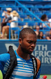 Donald Young, professional tennis player Royalty Free Stock Photos