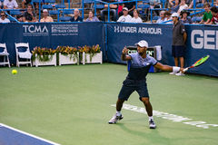 Donald Young in Washington DC voor Open Citi Royalty-vrije Stock Afbeelding