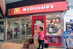 Donalds Mc в Гонконге Стоковые Фото
