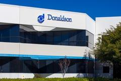 Donaldson Company Exterior and Logo Stock Photography