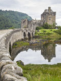Donan κάστρο Σκωτία Eilean Στοκ Φωτογραφίες