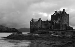 donan eilean högland scotland för slott Arkivbilder