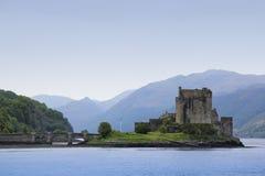 donan eilean högland scotland för slott Royaltyfri Foto
