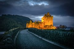donan eilean zamek zdjęcie royalty free