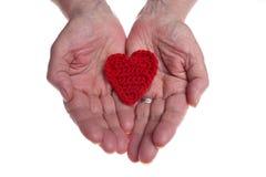 Donante de amor Foto de archivo libre de regalías