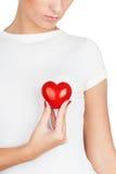 Donante de concepto del amor Imágenes de archivo libres de regalías