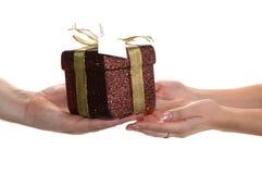 Donante de las manos preestablecido otro Imagen de archivo libre de regalías