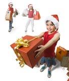 Donante de un presente Imagen de archivo libre de regalías