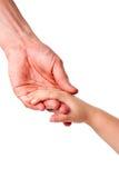 Donante de una mano Foto de archivo libre de regalías