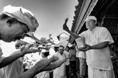Donante del agua santa Fotos de archivo
