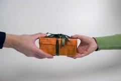 Donante del regalo fotos de archivo