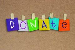 donate stock abbildung
