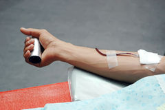 Donate blood Royalty Free Stock Photo