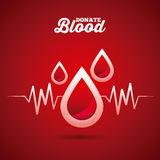 Donate blood design Stock Photo