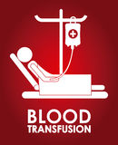 Donate blood design Royalty Free Stock Images