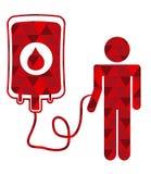 Donate blood Stock Image