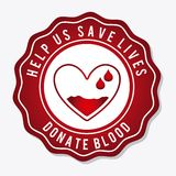Donate blood Royalty Free Stock Photos