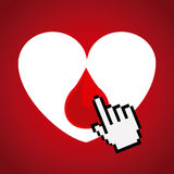 Donate blood Stock Images
