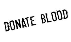 Donate Blood rubber stamp Stock Photos