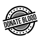 Donate Blood rubber stamp Royalty Free Stock Images