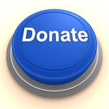 Donate button Stock Photography