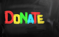 Donate Concept Royalty Free Stock Photo