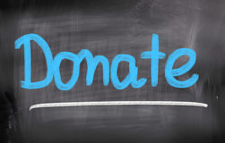 Donate Concept Royalty Free Stock Image