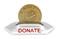 Donate concept icon Royalty Free Stock Photo