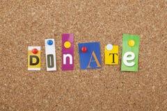 Donate Royalty Free Stock Photo