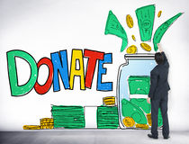 Donate Give Help Stock Photography