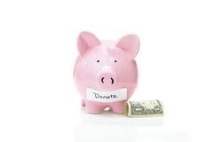 Donate money Stock Photos