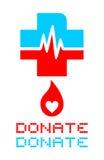 Donate symbol Stock Photography