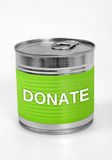 Donate word Royalty Free Stock Images