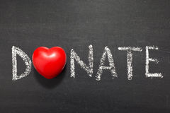Donate Royalty Free Stock Images