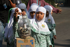 Donated to rohingnya refugees Stock Photo