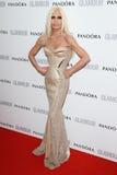 Donatella Versace lizenzfreies stockfoto