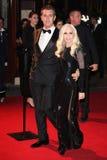 Donatella Versace, Rupert Everett Obrazy Royalty Free