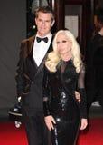 Donatella Versace, Rupert Everett Obrazy Stock