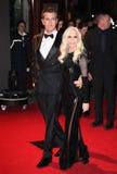 Donatella Versace, Rupert Everett Obraz Royalty Free