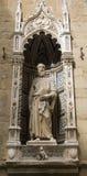 donatello福音传教士佛罗伦萨标记st 图库摄影
