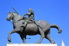 Donatello statue of Gattamelata Royalty Free Stock Photos