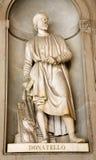 donatelloflorence staty royaltyfria bilder
