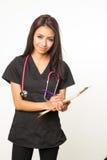 Donateur de soin professionnel d'infirmière photographie stock libre de droits