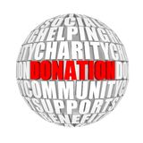 donation Imagem de Stock